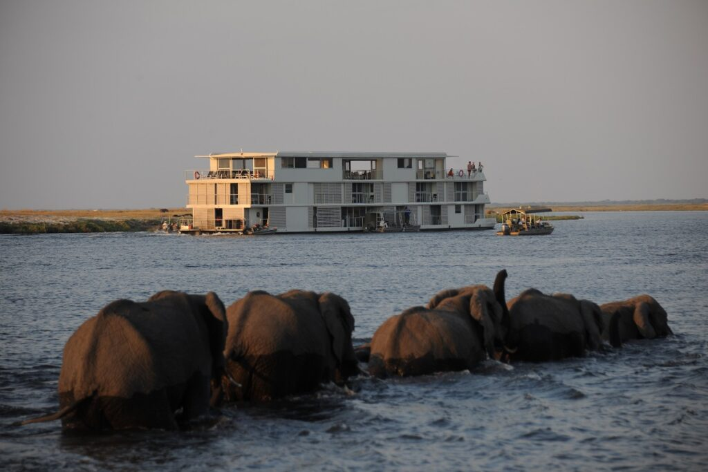 Zambezi Queen Houseboat