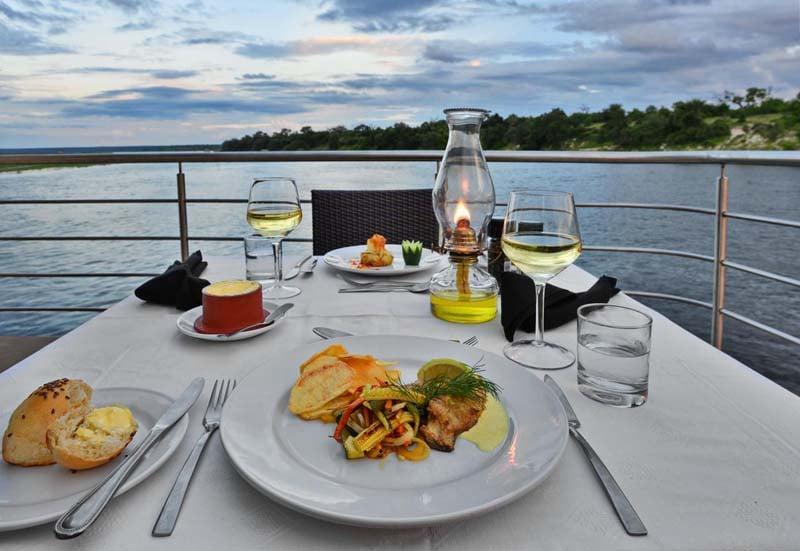 Dinner Cruise on the Zambezi River